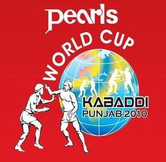 2010 Kabaddi World Cup (Circle style) - Logo of the 2010 Kabaddi World Cup