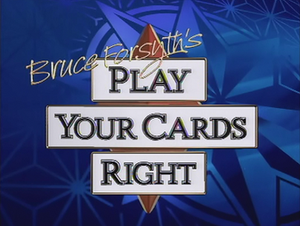 Play Your Cards Right - Image: Play Your Cards Right