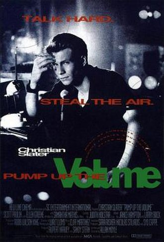 Pump Up the Volume (film) - Theatrical poster
