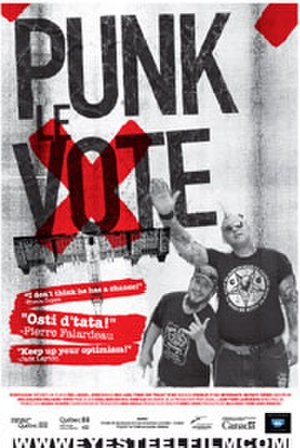 Punk the Vote! - Theatrical release poster