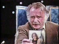 John Mills as the Professor in 1979's concluding serial Quatermass.