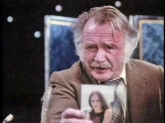 Bernard Quatermass - John Mills as the Professor in 1979's concluding serial Quatermass.