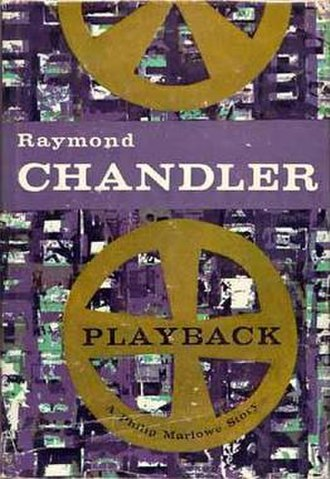 Playback (novel) - Cover of the first U.S. edition