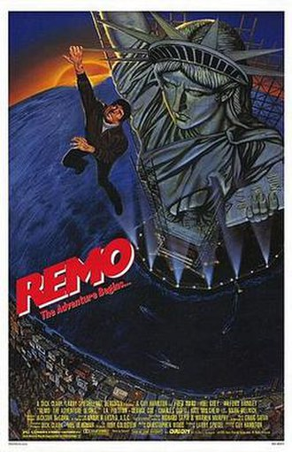 Remo Williams: The Adventure Begins - Theatrical release poster