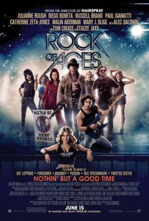 Rock of Ages (2012 film) - Theatrical release poster