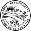 Official seal of Rowe, Massachusetts