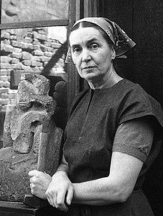 Ruth Cravath - Ruth Cravath in 1955 Photo by Imogen Cunningham