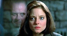 Hannibal Lecter talking to Clarice Starling in the 1991 film The Silence of the Lambs.