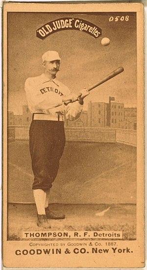 1887 Detroit Wolverines season - Sam Thompson