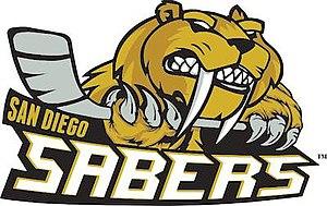 San Diego Sabers - Image: San Diego Sabers Logo