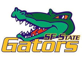 San Francisco State Gators football - Image: San Francisco State Gators (logo)