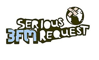 Serious Request - Logo of Radio 3FM's Serious Request (2004-2013)