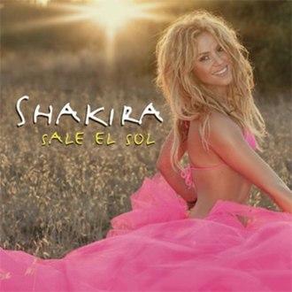 Sale el Sol (song) - Image: Shakira sale el sol single cover