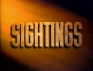 Sightings (TV series) - Image: Sightings Title Card