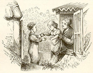 The Snow Queen - Vilhelm Pedersen illustration