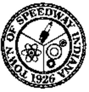 Speedway, Indiana - Image: Speedway seal