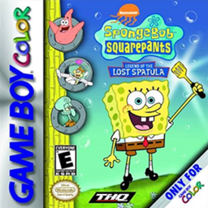 SpongeBob SquarePants: Legend of the Lost Spatula - Image: Sponge Bob Square Pants Legend of the Lost Spatula Coverart