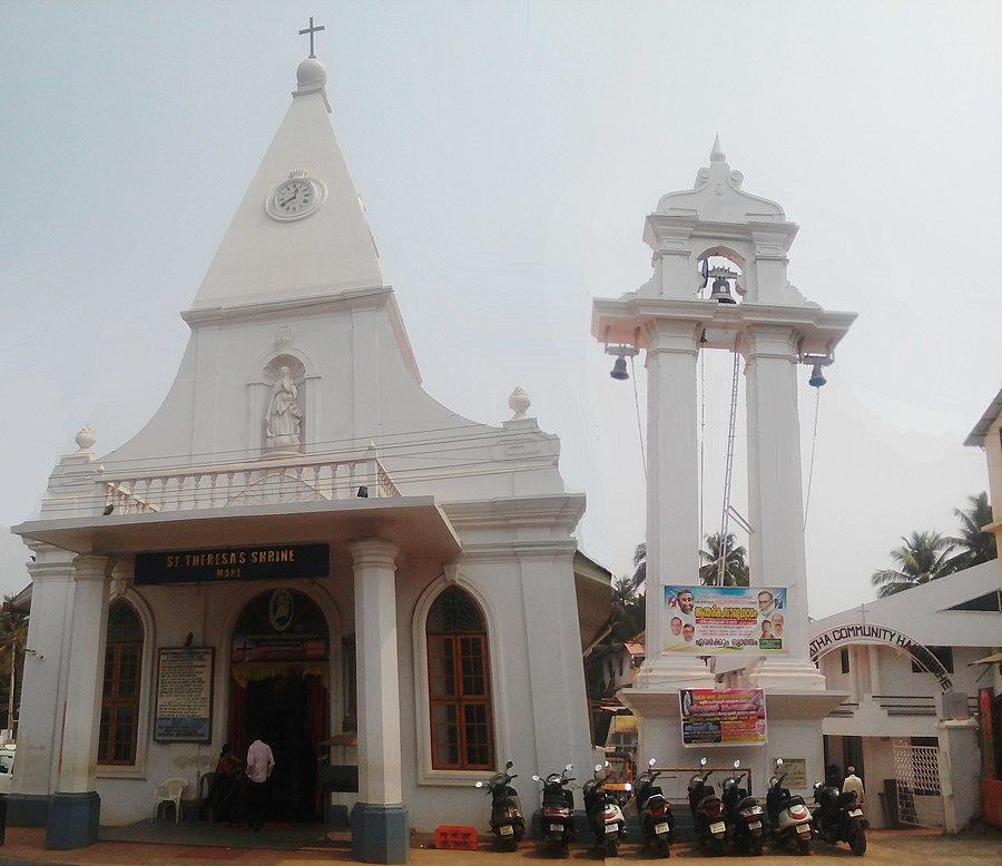 St. Teresa's Shrine, Mahé (Mahé Church), India