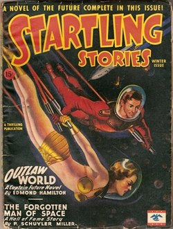 Startling Stories 1946 Winter cover