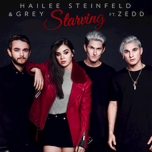 Starving (song) - Image: Starving (featuring Zedd) (Official Single Cover) by Hailee Steinfled and Grey