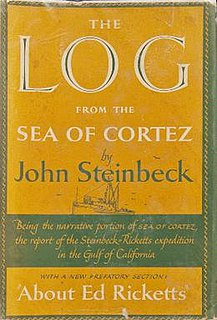 <i>The Log from the Sea of Cortez</i> Book by John Steinbeck