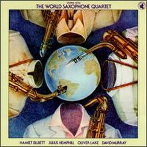 Steppin' with the World Saxophone Quartet - Image: Steppin' With the WSQ