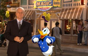 Disneyland: The First 50 Magical Years - Steve Martin and Donald Duck in Disneyland: The First 50 Magical Years