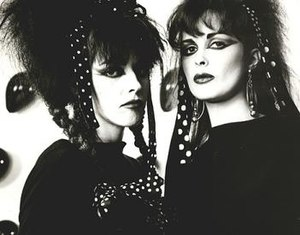 Strawberry Switchblade - Strawberry Switchblade: Rose McDowall (left) and Jill Bryson (right).