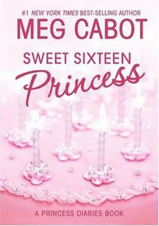 <i>The Princess Diaries, Volume VII and 1/2: Sweet Sixteen Princess</i> book by Meg Cabot