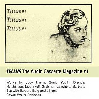 Tellus Audio Cassette Magazine - Image: Tellus 01