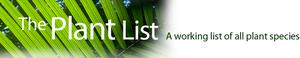 The Plant List - Image: The Plant List