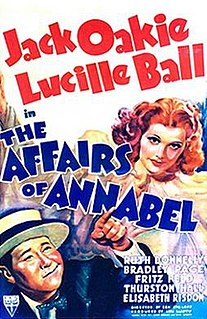 <i>The Affairs of Annabel</i> 1938 film by Benjamin Stoloff