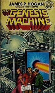 <i>The Genesis Machine</i> book by James P. Hogan