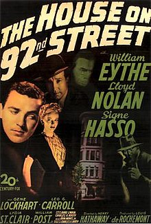The House on 92nd Street theatrical poster.jpg