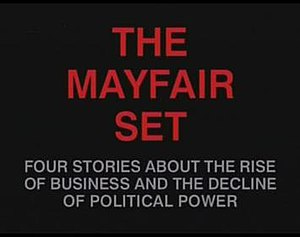 The Mayfair Set - Title screen