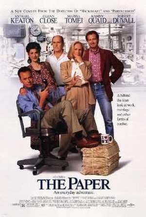 The Paper (film) - Theatrical release poster