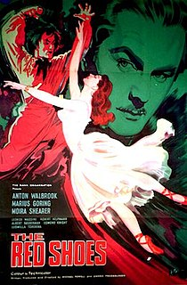 <i>The Red Shoes</i> (1948 film) 1948 film by Michael Powell and Emeric Pressburger