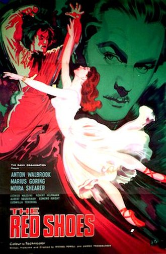 The Red Shoes (1948 film) - original movie poster