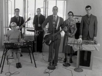 """The Rentals - The Rentals that performed on """"Return of The Rentals"""" in the """"Friends of P."""" music video."""