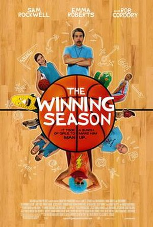 The Winning Season - Theatrical release poster
