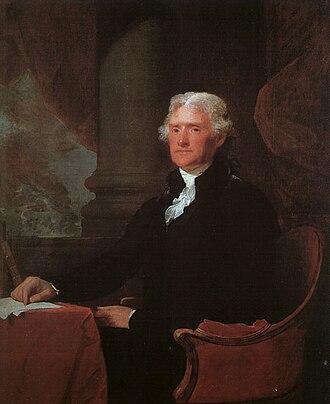History of the United States (1789–1849) - Thomas Jefferson, Third U.S. President