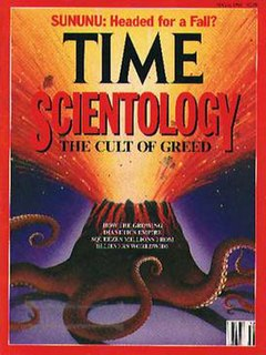 The Thriving Cult of Greed and Power 1991 newsmagazine article on Scientology