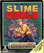 Todd's Adventures in Slime World cover art (Atari Lynx).jpg