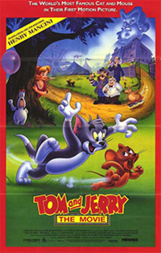 Tom and Jerry: The Movie - Theatrical release poster