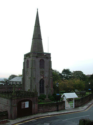 All Saints' Church, Childwall - Tower and hearse house