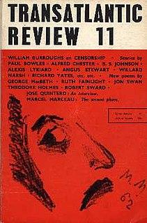 <i>Transatlantic Review</i> (1959–1977)