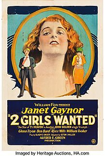 <i>Two Girls Wanted</i> 1927 film