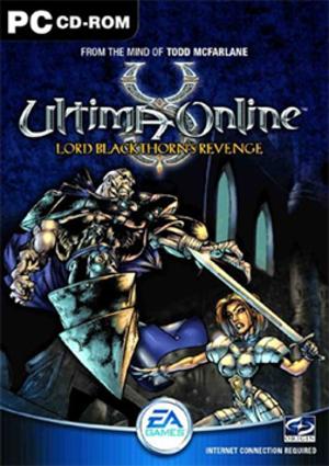 Ultima Online: Lord Blackthorn's Revenge - Image: Ultima Online Lord Blackthorn's Revenge Coverart