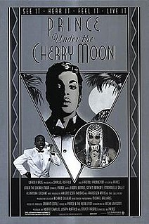 <i>Under the Cherry Moon</i> 1986 film by Prince