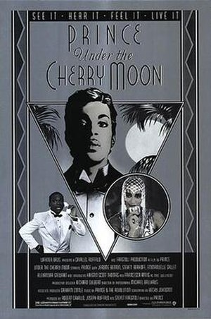 Under the Cherry Moon - Theatrical release poster